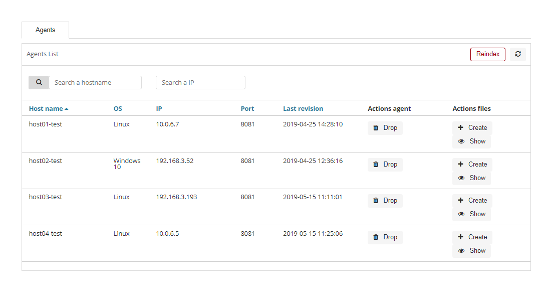 The Agents module  — OP5-Log-Analytics-6 x latest documentation